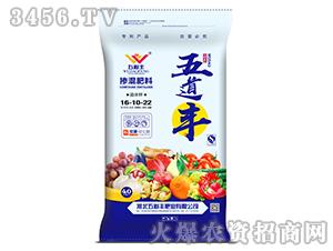 晶体钾掺混肥料16-10-22-五道丰