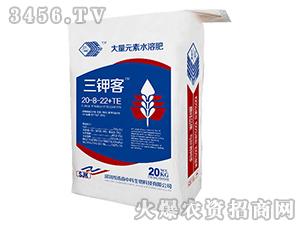 大量元素水溶肥20-8-22+TE-三钾客-浩森中科