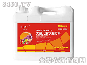 5kg大量元素水溶肥料(悬浮高钾型)100-80-320+TE-克芭克-瑞丰田