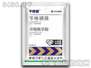 苄嘧磺隆+苯噻酰草胺-千稗惠-中天恒信