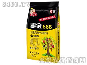 平衡型大量元素水溶肥料-黑金666-田员外