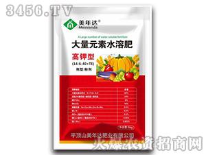 高钾型大量元素水溶肥14-6-40+TE-美年达