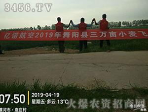 亿诺航空2019年舞阳县三万亩小麦飞防