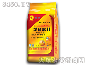 硫酸钾型缓释肥料17-