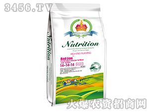 20kg全控肥料14-14-14-红狮-美晶肥料