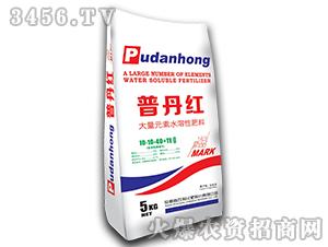 大量元素水溶肥料10-10-40+TE-普丹红-农利化肥