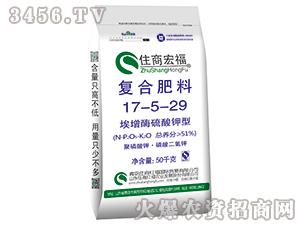 硫酸钾型复合肥料17-