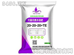 大量元素水溶肥料20-20-20+TE-瀚之润