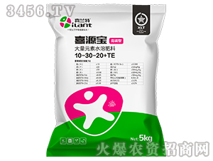 大量元素水溶肥料(高磷型)10-30-20+TE-喜源宝