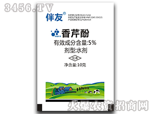 5%香芹酚水剂(10克)-伴友-中植科华