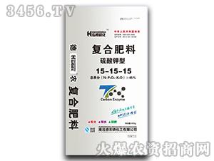 硫酸钾型复合肥料15-15-15-泓樽磷化-德农磷