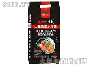 大量元素水溶肥13-6-40+0.2Mg0+TE-黑博士-籽丰生物