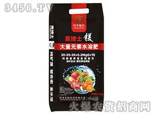 大量元素水溶肥20-20-20+0.2Mg0+TE-黑博士-籽丰生物