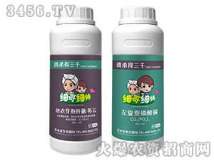 地衣芽孢杆菌·苏云+左旋亚磷酸钾-溃杀得三千-台湾豆本豆