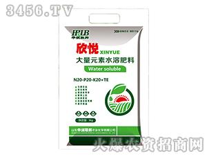 大量元素水溶肥料20-20-20+TE-欣悦-华润荣邦