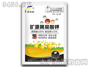 400g矿源黄腐酸钾-绿田地-鑫禾生物