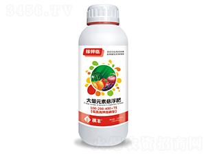 低氮高钾高磷型大量元素悬浮肥100-200-400+TE-稼钾临-祺丰