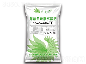 海藻全元素水溶肥15-5-40+TE(绿)-丽美泽-中农恒大