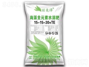 海藻全元素水溶肥15-15-30+TE-丽美泽-中农恒大