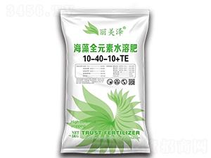 海藻全元素水溶肥10-40-10+TE-丽美泽-中农恒大