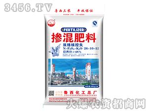 双络核控失掺混肥料26-10-12-鲁西化工