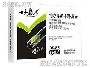 地衣芽孢杆菌·苏云-白粉锈病好效果-台湾豆本豆