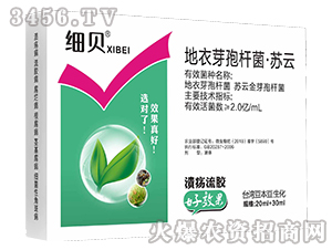 地衣芽孢杆菌·苏云-细贝-台湾豆本豆
