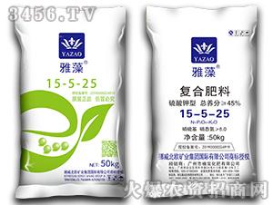 硫酸钾型复合肥料15-5-25-雅藻-植宝化肥