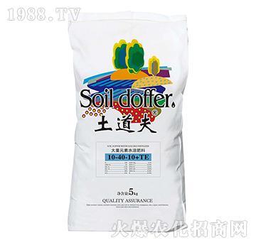 大量元素水溶肥料10-40-10+TE-土道夫