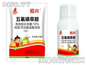 10%五氟磺草胺可分散油悬浮剂-稻兴-千臣生物