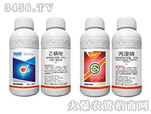 20%乙螨唑(500克)+50%丙溴磷(600克)-易满屠+钓打-科利农