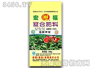 烟草专用氨化硫酸钾复合肥15-15-15-宏福-瓮福集团