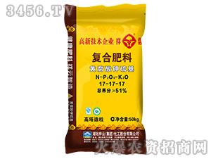 黄腐酸钾硫基复合肥料17-17-17-祥云