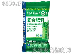 51%高浓度纯硫酸钾复合肥料17-17-17-祥云