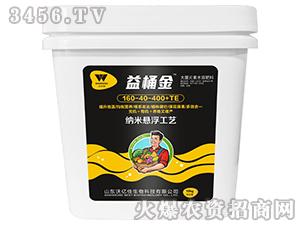 纳米悬浮工艺大量元素水溶肥料160-40-400+TE-益桶金-沃尔优