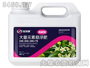 高磷型大量元素悬浮肥100-450-200+TE-施保康