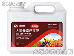 高钾型大量元素悬浮肥100-250-400+TE-施保康