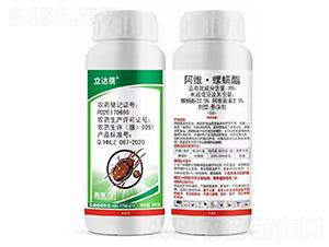 25%阿维·螺螨酯悬浮剂-立达腈-勇冠乔迪