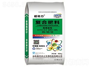 高塔造粒复合肥料26-10-12-超动力-华博天下