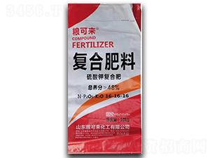 硫酸钾复合肥16-16-16-粮可来