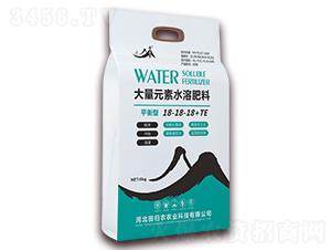 平衡型大量元素水溶肥料18-18-18+TE-黄粱梦-田归农