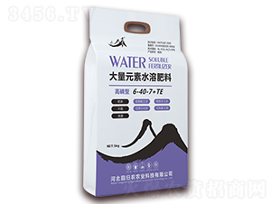 高磷型大量元素水溶肥料6-40-7+TE-黄粱梦-田归农