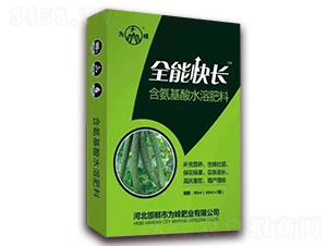 黄瓜专用含氨基酸水溶肥料-全能快长-为峰肥业