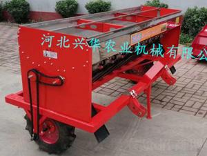 双箱撒肥机(红色)-兴华农业机械
